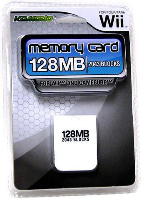 Nintendo Wii / Gamecube Memory Card