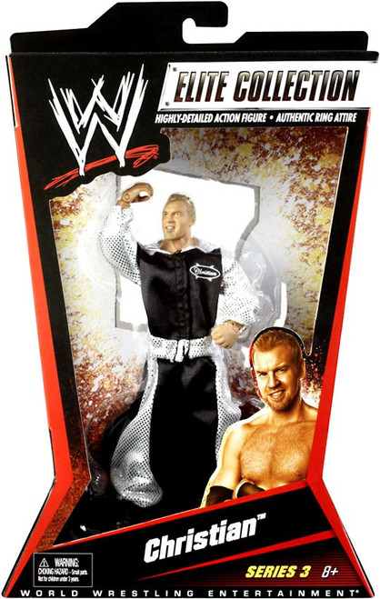WWE Wrestling Elite Collection Series 3 Christian Action Figure