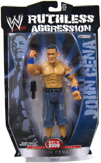 WWE Wrestling Ruthless Aggression Best of 2009 Series 2 John Cena Action Figure