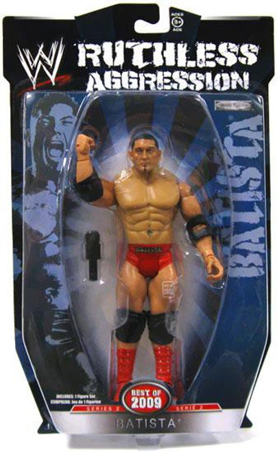 WWE Wrestling Ruthless Aggression Best of 2009 Series 2 Batista Action Figure