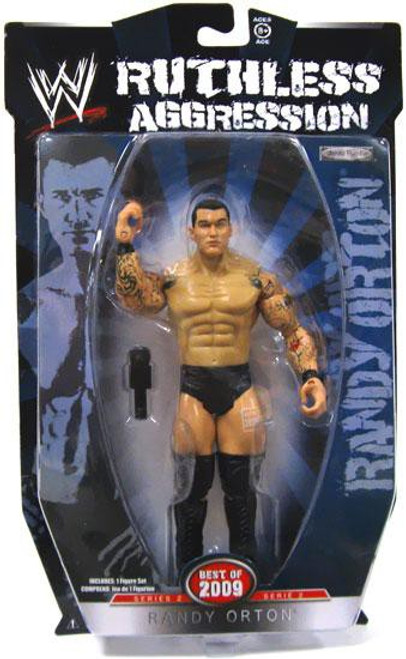 WWE Wrestling Ruthless Aggression Best of 2009 Series 2 Randy Orton Action Figure