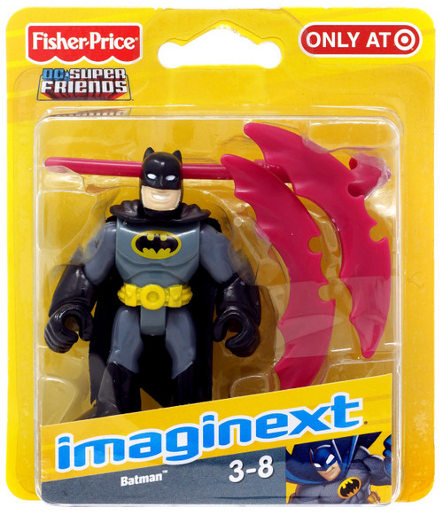Fisher Price DC Super Friends Imaginext Batman 3-Inch Mini Figure
