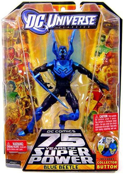 DC Universe 75 Years of Super Power Classics Trigon Series Blue Beetle Action Figure