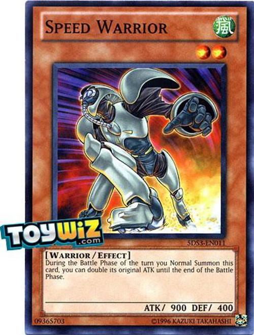 YuGiOh YuGiOh 5D's 2010 Duelist Toolbox Common Speed Warrior #5DS3-EN011