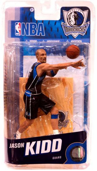 McFarlane Toys NBA Dallas Mavericks Sports Picks Series 18 Jason Kidd Action Figure