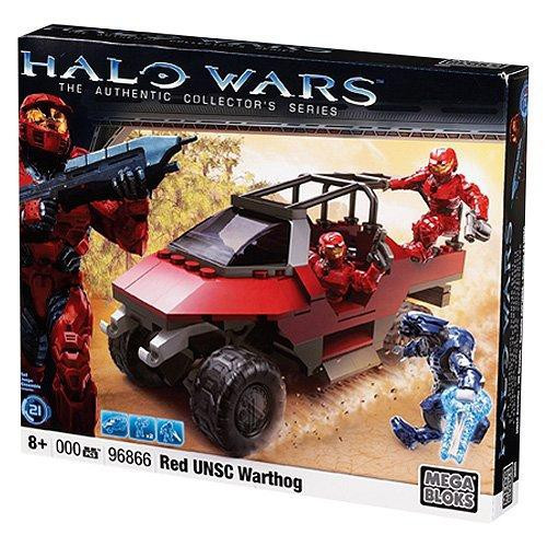 Mega Bloks Halo The Authentic Collector's Series Red UNSC Warthog Set #96866