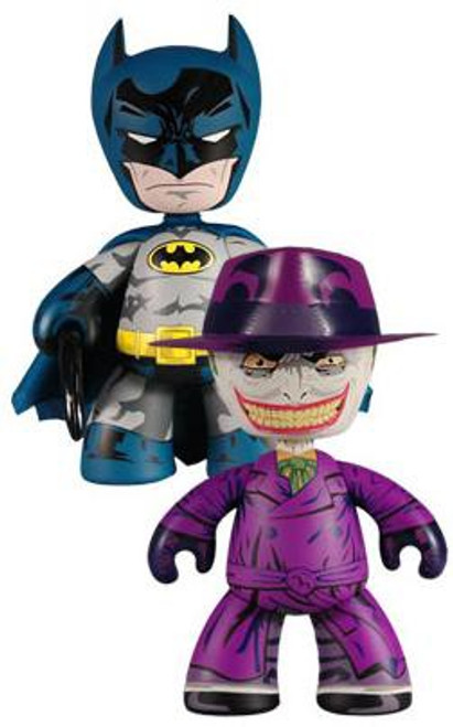 Mez-Itz Batman & The Joker Exclusive Vinyl Figure 2-Pack