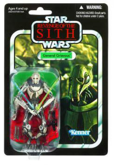 Star Wars Revenge of the Sith Vintage Collection 2010 General Grievous Action Figure #17