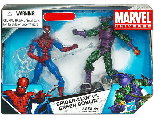 Marvel Universe Spider-Man vs. Green Goblin Exclusive Action Figure 2-Pack