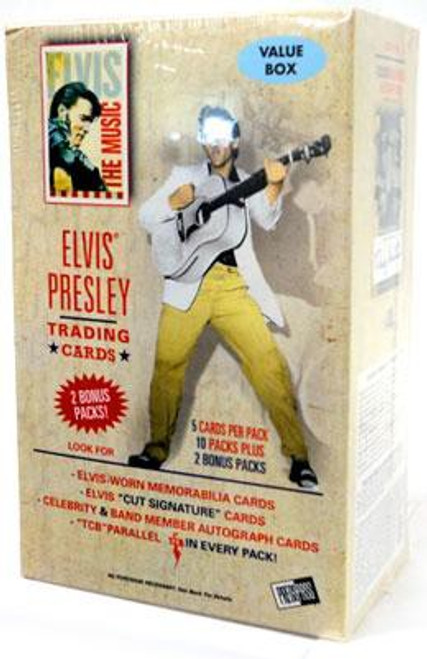 Elvis Presley Elvis: The Music Trading Card Value Box