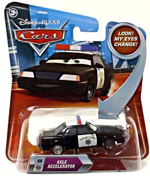 Disney / Pixar Cars Lenticular Eyes Series 2 Axle Accelerator Diecast Car
