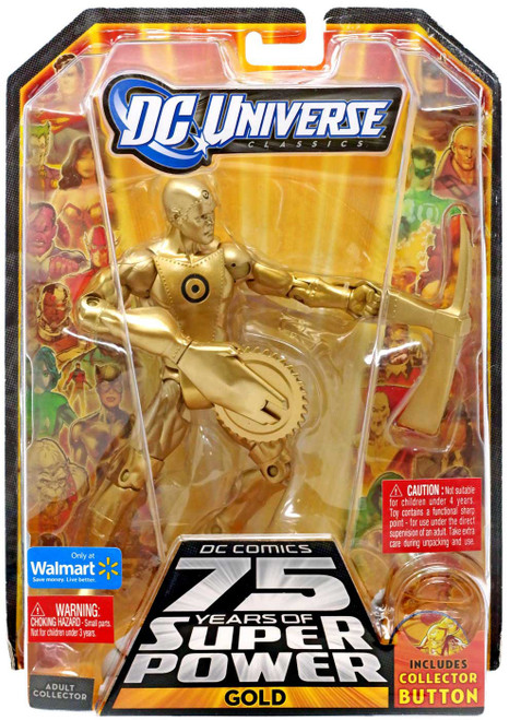 DC Universe 75 Years of Super Power Classics Ultra Humanite Series Gold Exclusive Action Figure