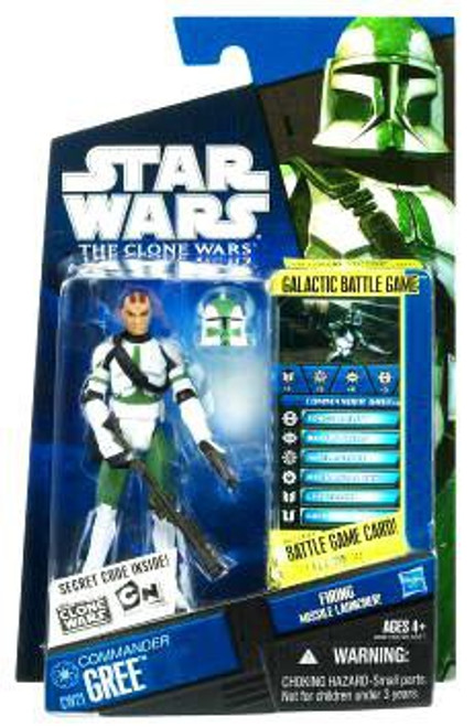 Star Wars The Clone Wars 2010 Commander Gree Action Figure CW21