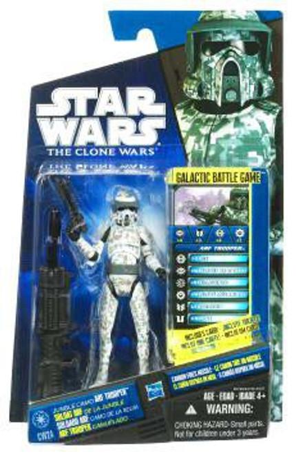 Star Wars The Clone Wars 2010 Jungle Camo ARF Trooper Action Figure CW24