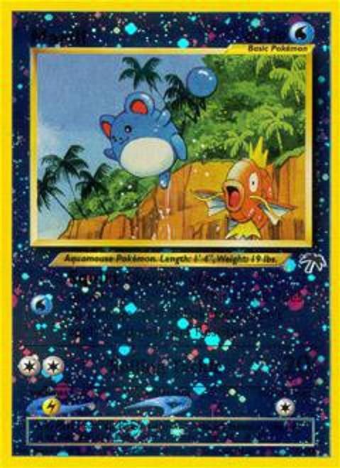 Pokemon Southern Islands Rare Reverse Holo Marill #11
