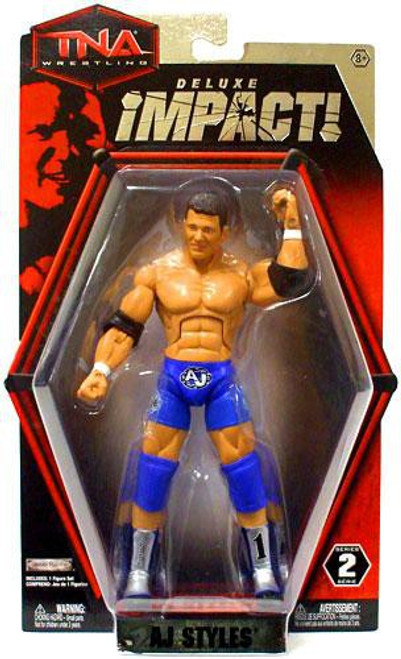 TNA Wrestling Deluxe Impact Series 2 AJ Styles Action Figure