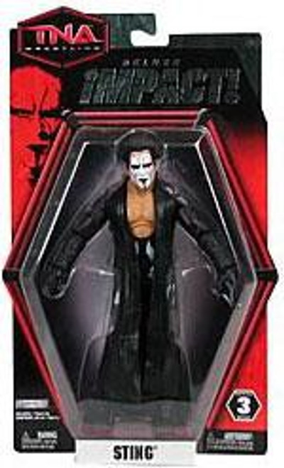TNA Wrestling Deluxe Impact Series 3 Sting Action Figure