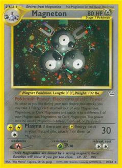 Pokemon Neo Revelation Rare Holo Magneton #10