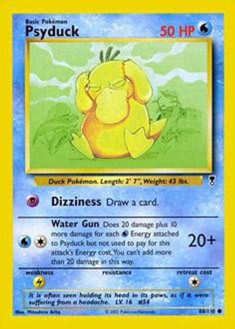 Pokemon Legendary Collection Common Psyduck #88