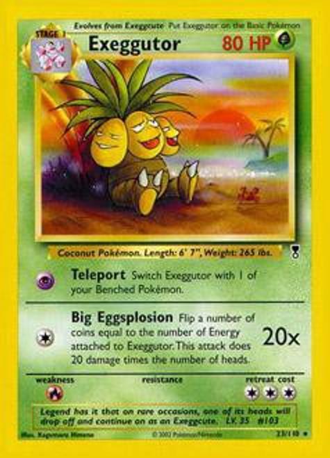 Pokemon Legendary Collection Rare Exeggutor #23