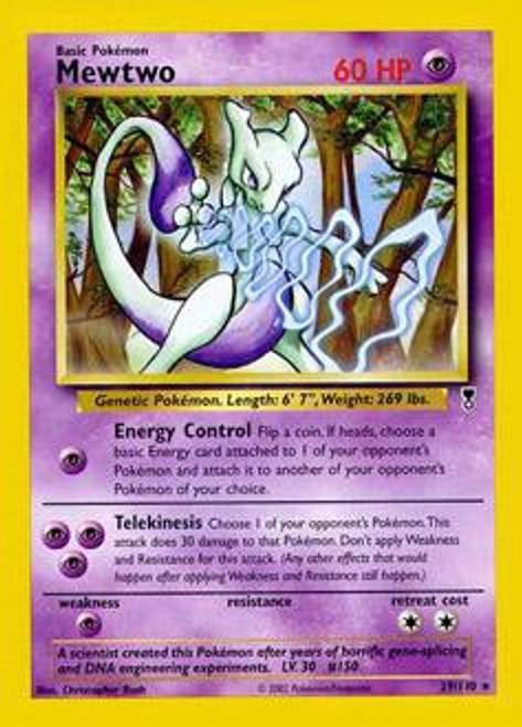 Pokemon Legendary Collection Rare Mewtwo #29