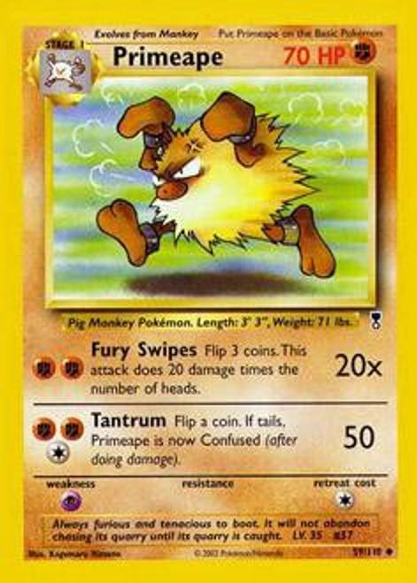 Pokemon Legendary Collection Uncommon Primeape #59