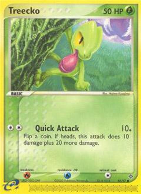 Pokemon Trading Card Game EX Dragon Common Treecko #80