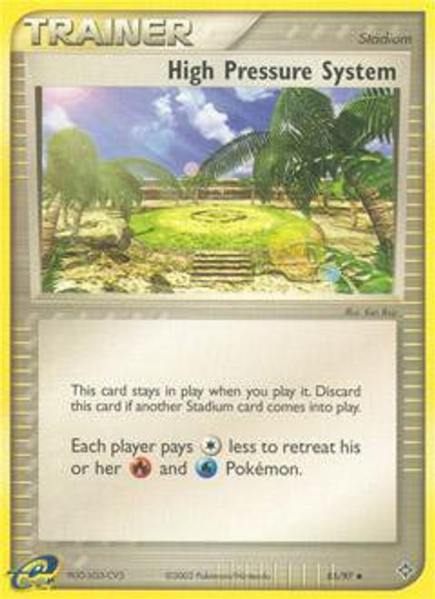 Pokemon Trading Card Game EX Dragon Common High Pressure System #85