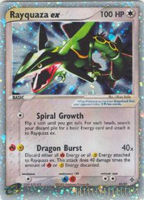 Pokemon Trading Card Game EX Dragon Ultra Rare Rayquaza ex #97