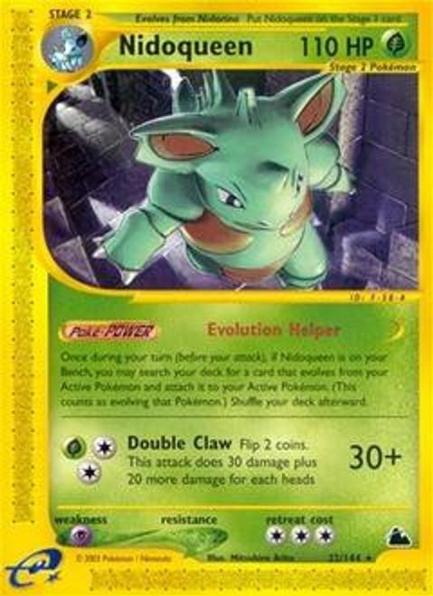 Pokemon Skyridge Rare Nidoqueen #22
