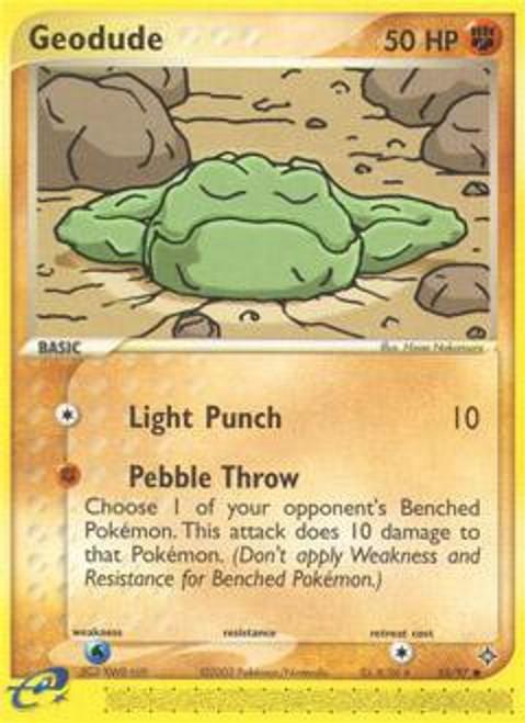 Pokemon Trading Card Game EX Dragon Common Geodude #55