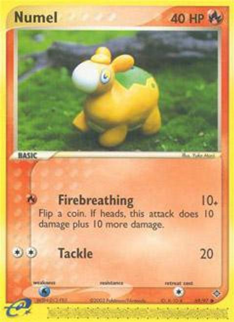 Pokemon Trading Card Game EX Dragon Common Numel #69