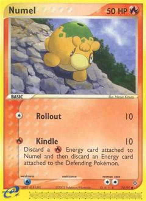 Pokemon Trading Card Game EX Dragon Common Numel #70