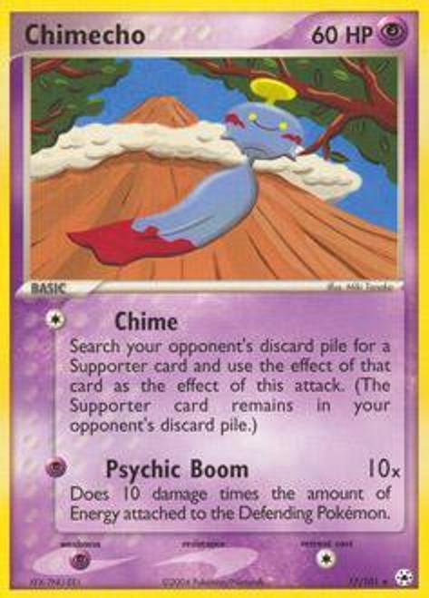 Pokemon EX Hidden Legends Rare Chimecho #17