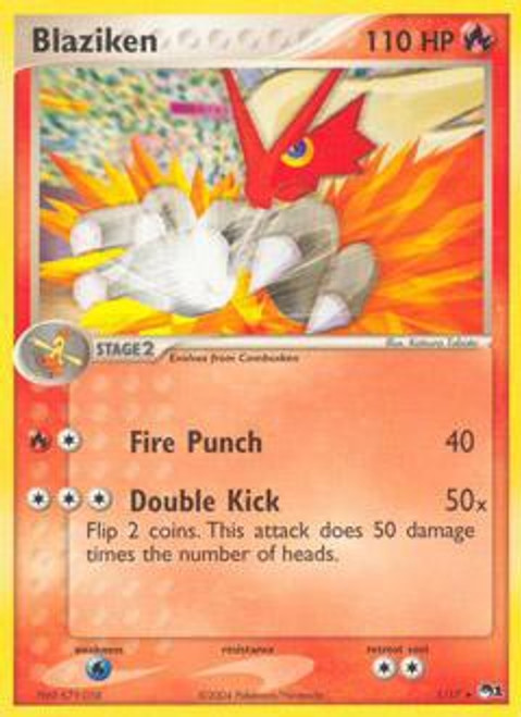 Pokemon Trading Card Game Organized Play Series 1 Rare Blaziken #1