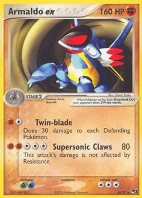 Pokemon Trading Card Game Organized Play Series 1 Rare Armaldo ex #16