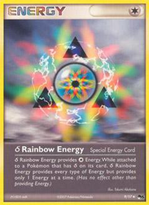 Pokemon Trading Card Game Organized Play Series 5 Uncommon Delta Species Rainbow Energy #9