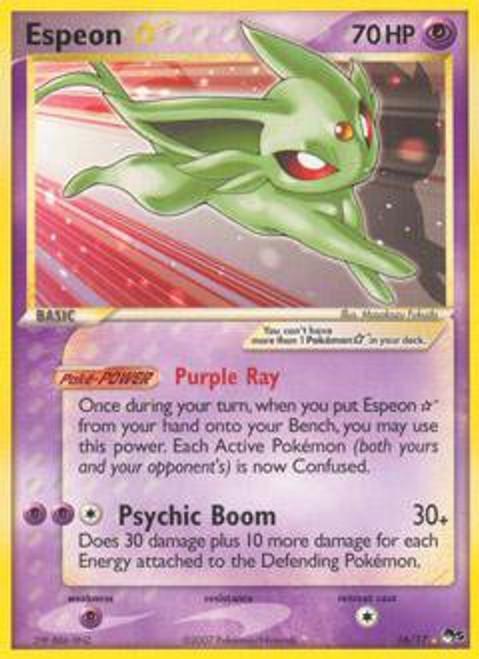 Pokemon Trading Card Game Organized Play Series 5 Ultra Rare Espeon * #16