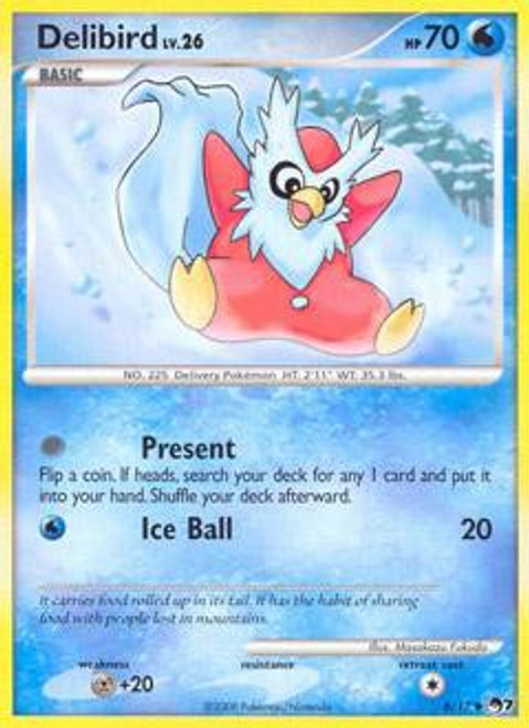 Pokemon Trading Card Game Organized Play Series 7 Uncommon Delibird #6