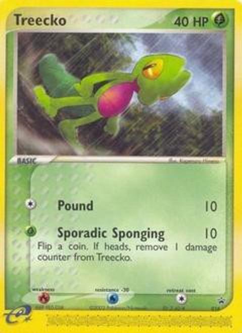 Pokemon Trading Card Game Promo Cards Rare Treecko #16