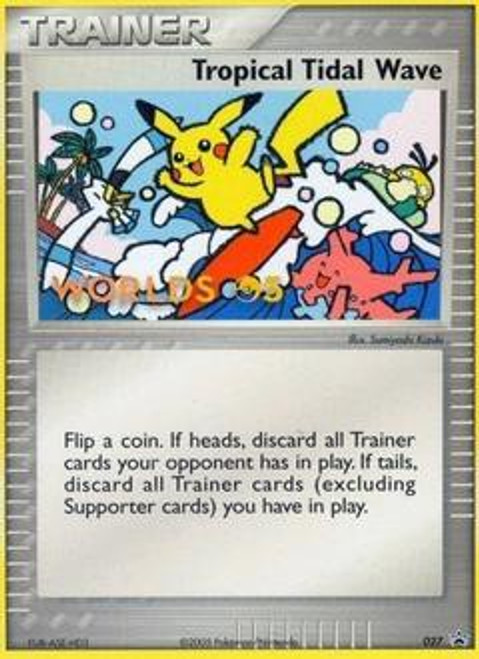 Pokemon Trading Card Game Promo Cards Promo Tropical Tidal Wave #27