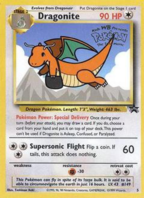 Pokemon Promo Cards WotC Promo Dragonite #5