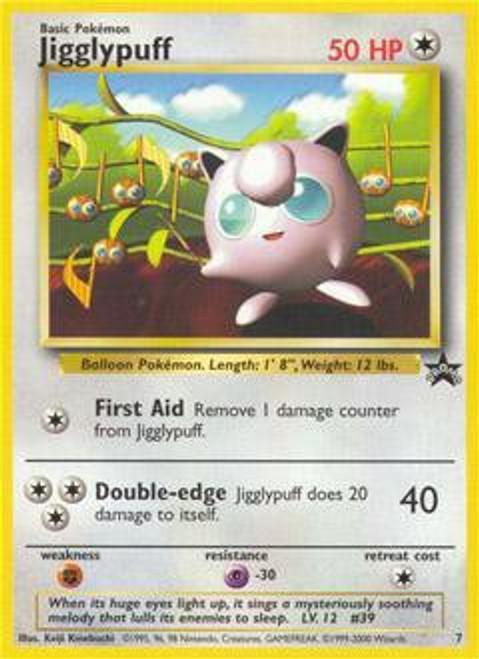 Pokemon Promo Cards WotC Promo Jigglypuff #7