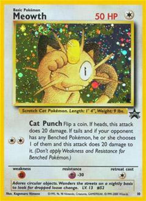 Pokemon Promo Cards WotC Promo Meowth #10