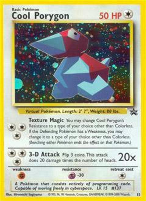Pokemon Promo Cards WotC Promo Cool Porygon #15