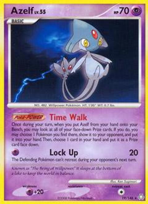 Pokemon Diamond & Pearl Legends Awakened Rare Azelf #19