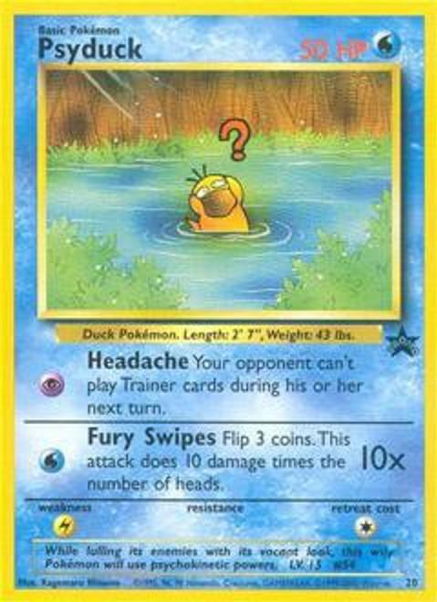 Pokemon Promo Cards WotC Promo Psyduck #20
