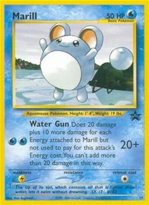 Pokemon Promo Cards WotC Promo Marill #29