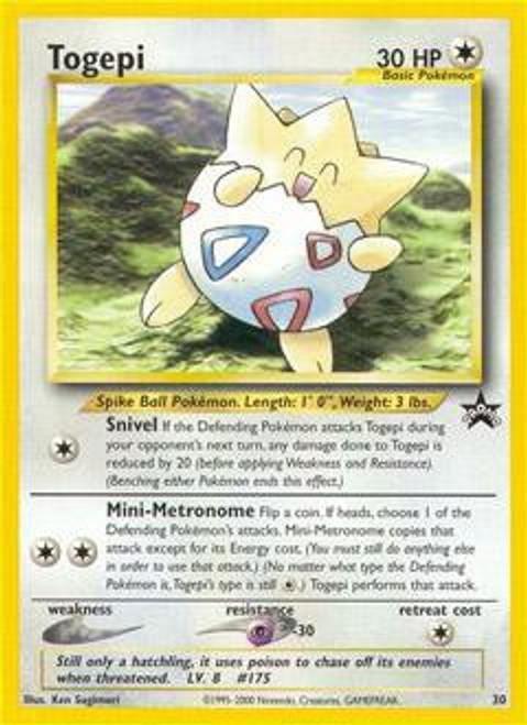 Pokemon Promo Cards WotC Promo Togepi #30
