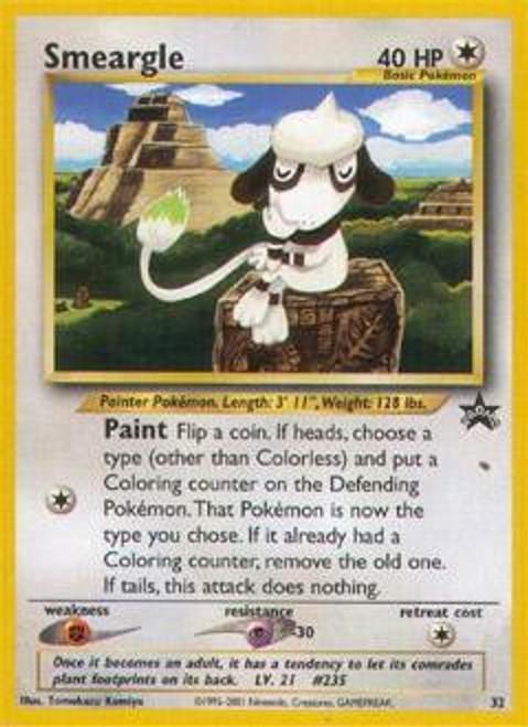 Pokemon Promo Cards WotC Promo Smeargle #32